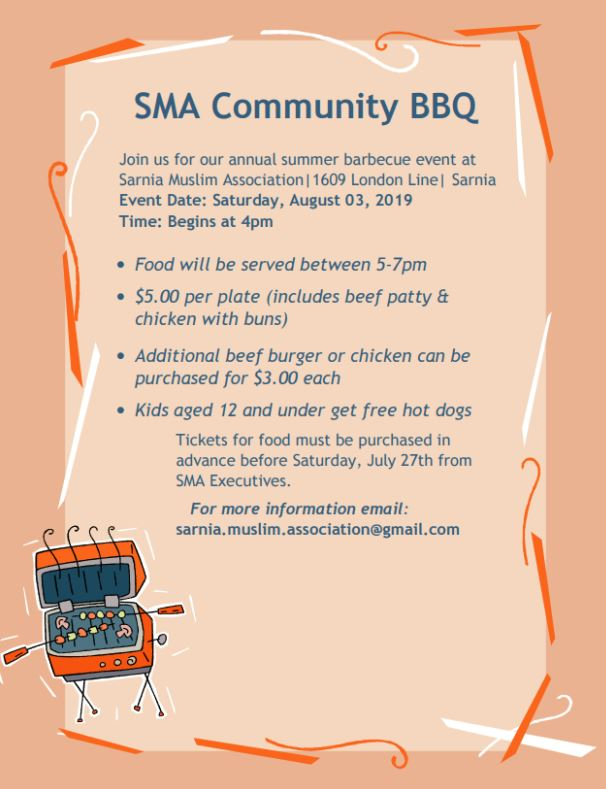 Sarnia Muslim Association | Muslim Community in Sarnia